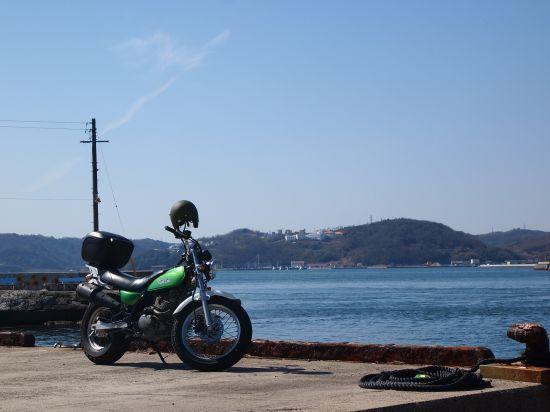前島の牛窓港灯台と蓬埼灯台を探せ!ツーリング@岡山