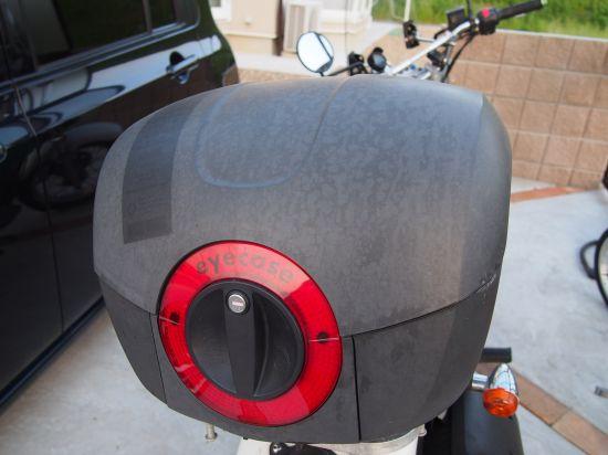 バイクのリアボックスが色落ちしたら【輝きの取り戻し方】