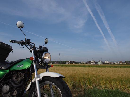 空気が入れにくい!ので、バルブエクステンションを買ってみた~麦畑を走るバンバン