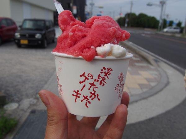 お得感満点の淡路島ジェラート!【淡路たかたのケーキ】