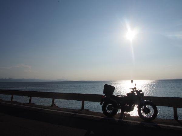 淡路島を走るバンバン