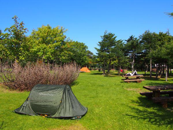 無料キャンプ場