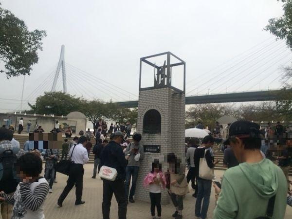 【衝撃の光景】大阪のポケモンGOの聖地・天保山へ行ってきた
