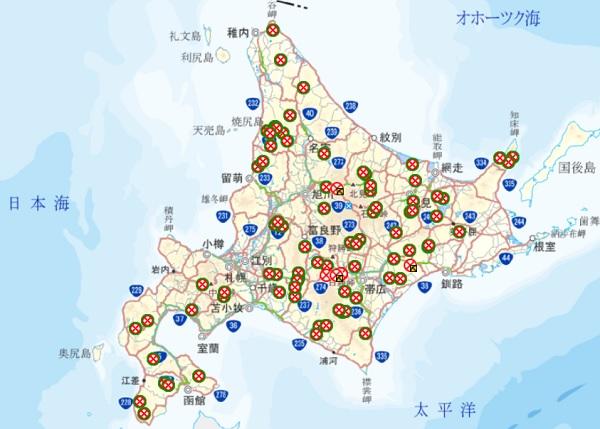 【'16北海道ツーリングまとめ1】~走行距離・ルート・燃費~