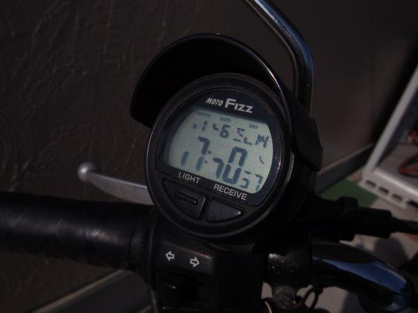MOTOFIZZ バイク用電波時計