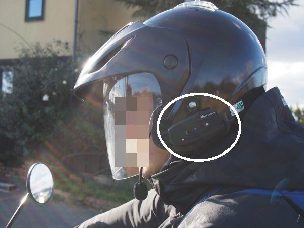 2つで1万円しないバイクのインカムつけてみた感想【バンバンズ200】