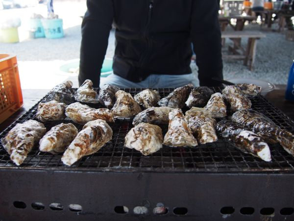 焼き牡蠣大豊