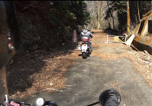 旧道天王峠入口