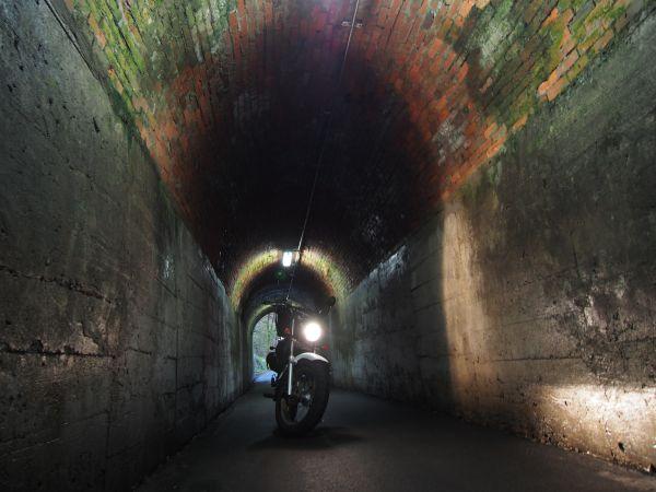 県道80号線・素敵なレンガ造りの相坂トンネルがあった@兵庫県夢前
