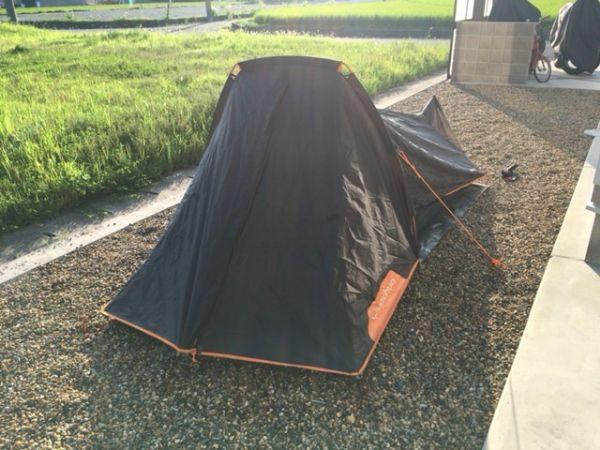 フランスメーカーのテント