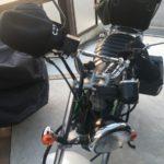 【こたつ効果抜群で脱・やせ我慢】バイクにダサいハンドルカバーを装着してみた
