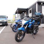 【6月の北海道ツーリングへGO】レンタルバイク・ジクサーを旅仕様にするの巻【2018-1話】