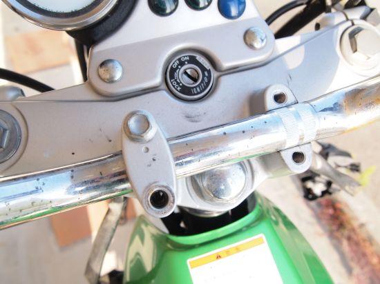 バイクのハンドル交換 2.作業開始!【バンバン200】