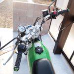 バイクのハンドル交換 3.ハンドルに穴を開ける作業【バンバン200】