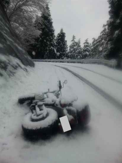 バンバンの大冒険 2013【爆弾低気圧に遭遇、バンバン雪まみれ】