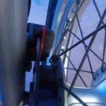 バンバンのブレーキパッド、ブレーキフルードの交換