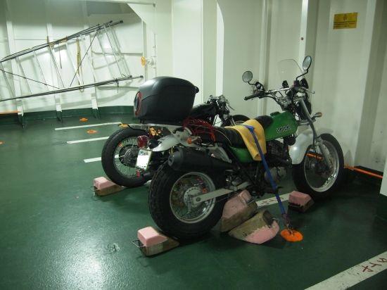 冬の九州ツーリング【1日目・3分前にフェリーに乗れた奇跡】