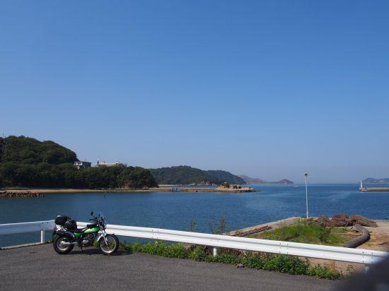 【1/5】GWにアートの島・直島へ!ツーリング~宇野港から直島へGO!~@香川