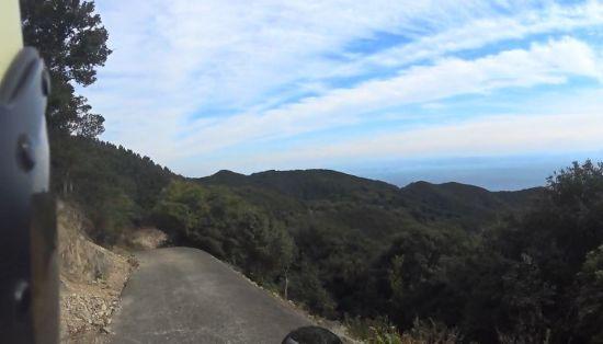 淡路島一周日帰りツーリング2【柏原山林道とG.ELMのジェラート】@兵庫