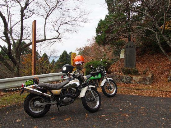 同じバイクに乗る人に逢うよろこび(*・ω・)