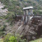 R371走破ツーリングの途中に寄ってみた、桜の七川ダム【和歌山県】