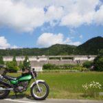 県道709三春峠手前にひっそりある三宝ダム【兵庫県】