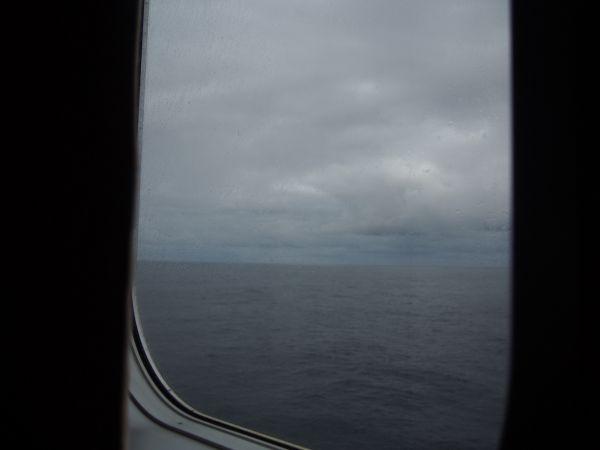 新日本海フェリーからの景色