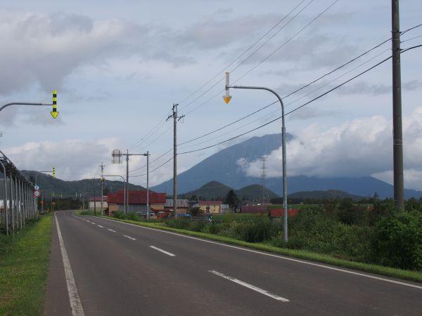 道北の利尻富士みたいやね