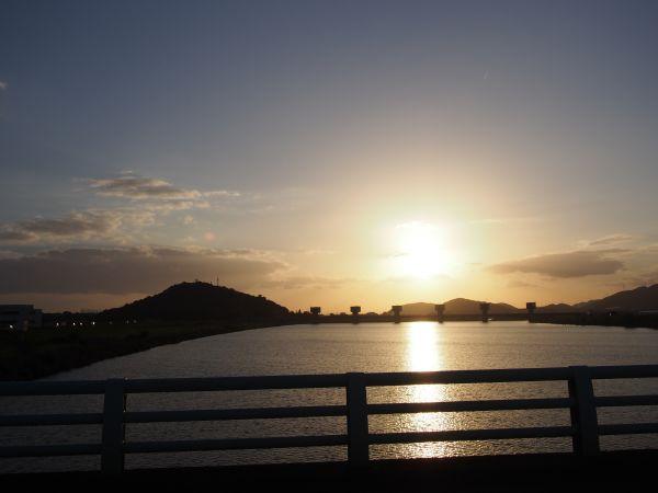 加古川が綺麗やね