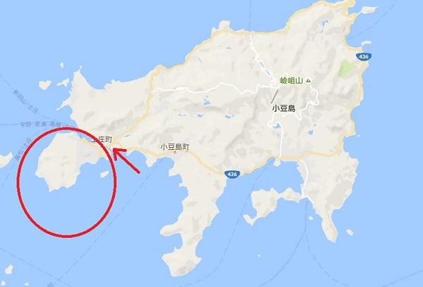 小豆島は2つの島