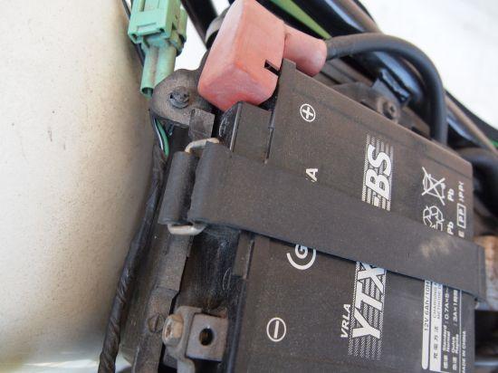バイクのバッテリー上がりの・・謎。