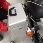 バイクにサイドボックスを取り付ける作戦(2)【バンバン200】