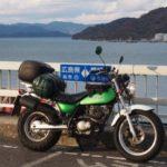 【冬の四国ツーリング2】心躍る!とびしま海道を走る【バンバン200】