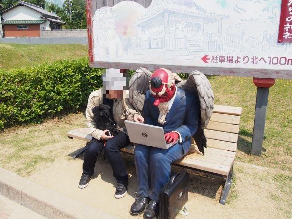 【リアルに怖い!ゆるキャラ】ガジロウのリニューアル見てきた@兵庫県福崎