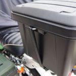 【アイリスオーヤマ ボックス RVBOX 400】バイクのリアボックス用に買ってみた