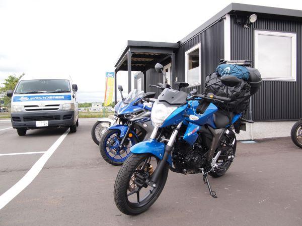 【6月の北海道ツーリング】レンタルバイク・ジクサーを旅仕様にするの巻【2018-1話】
