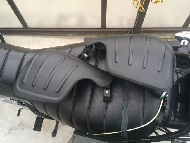 【格安のバイク防寒対策】アマゾンで買ったナックルガード装着!