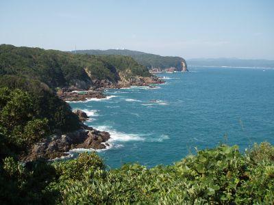 潮岬の景色